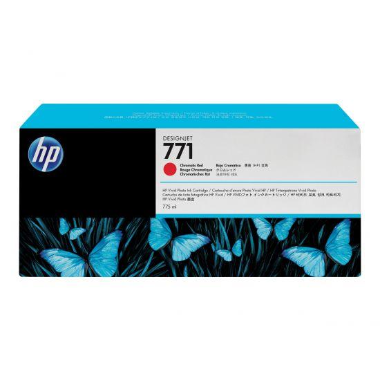 HP 771 - kromatisk rød - original - blækpatron
