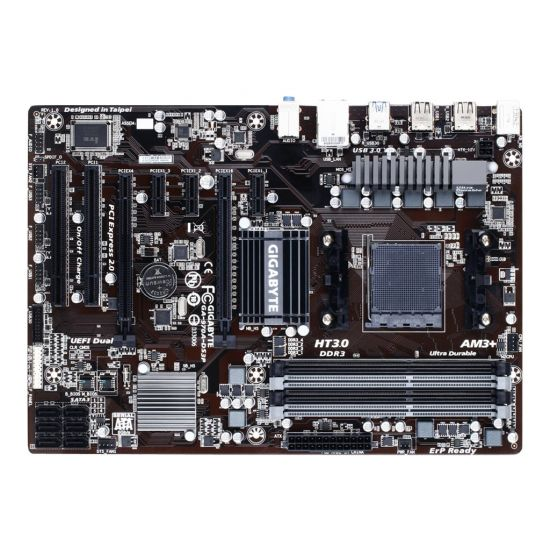 Gigabyte GA-970A-DS3P - 1.0 - bundkort - ATX - Socket AM3+ - AMD 970
