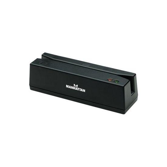 Manhattan Magnetic Strip Card Reader - magnetisk kortlæser - USB
