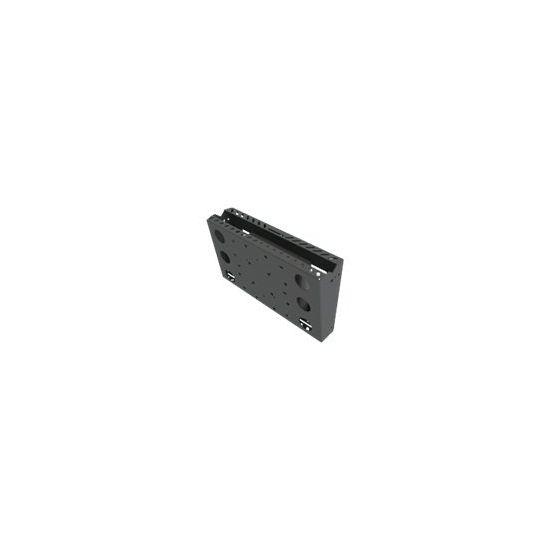Peerless Custom Slim Tilt Mount with PC Holder DS509