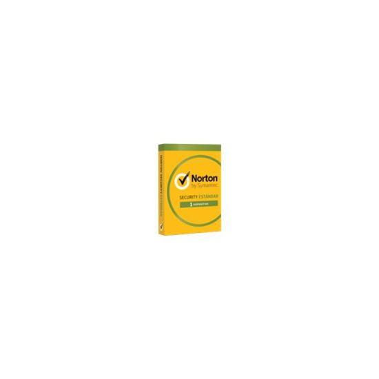Norton Security Standard (v. 3.0) - abonnementskort (1 år) - 1 enhed