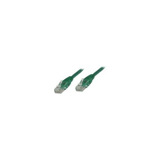 MicroConnect netværkskabel - 1 m - grøn