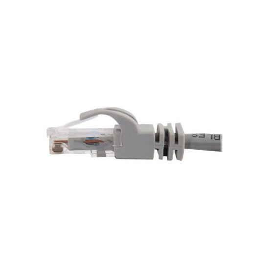 C2G Cat6 Booted Unshielded (UTP) Crossover Patch Cable - krydskabel - 1.5 m - grå