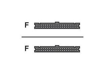 HP diskette-kabel