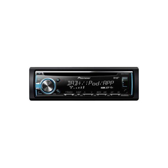Pioneer DEH-X6800DAB - Bil - CD-modtager - in-dash enhed - Full-DIN