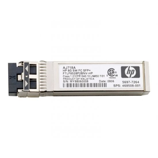 HPE Long Range - SFP+ transceiver modul - 8Gb Fibre Channel