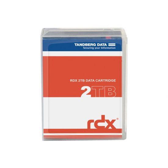 Tandberg RDX QuikStor - RDX x 1 - 2 TB - lagringsmedie