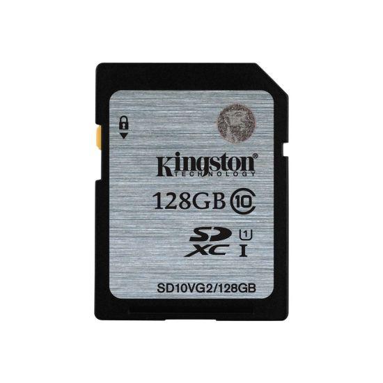 Kingston - flashhukommelseskort - 128 GB - SDXC UHS-I