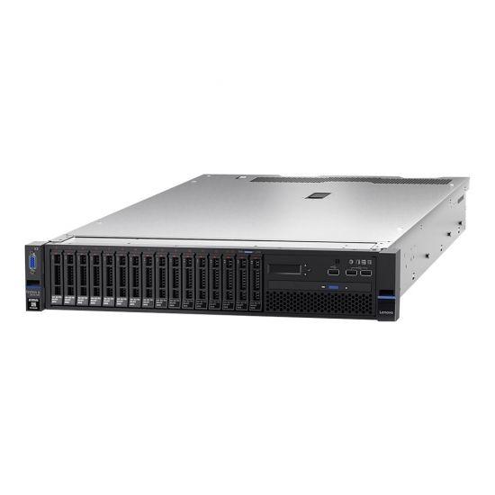 Lenovo System x3650 M5 - rack-monterbar - Xeon E5-2640V4 2.4 GHz - 16 GB - 0 GB