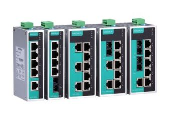 Moxa EtherDevice Switch EDS-208A-M-SC-T