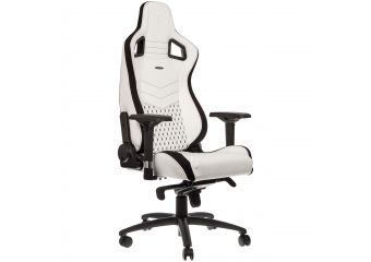 Noble Chairs EPIC Series Faux Leather White/Black