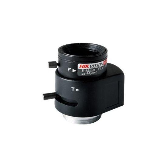 Hikvision TV0515D-MPIR - CCTV objektiv - 5 mm - 15 mm