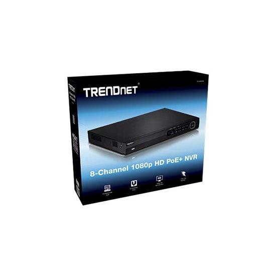 TRENDnet TV-NVR208 - standalone NVR - 8 kanaler