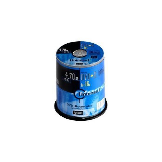 Intenso - DVD+R x 100 - 4.7 GB - lagringsmedie