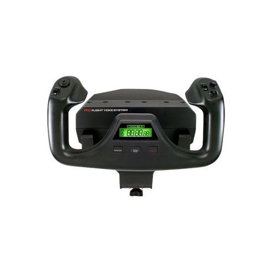 Logitech Flight Yoke System - spænde og speeder - kabling