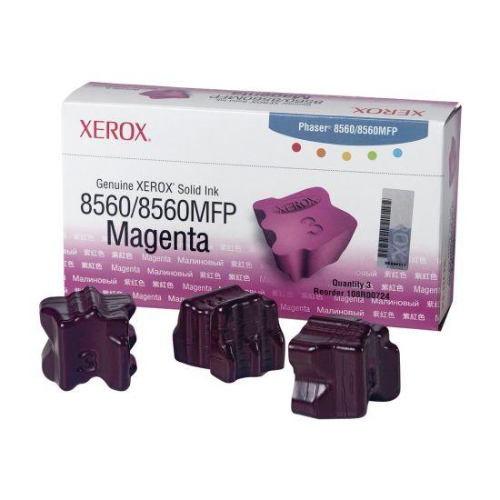 Xerox Phaser 8560MFP - 3 pakker - magenta - fast blæk