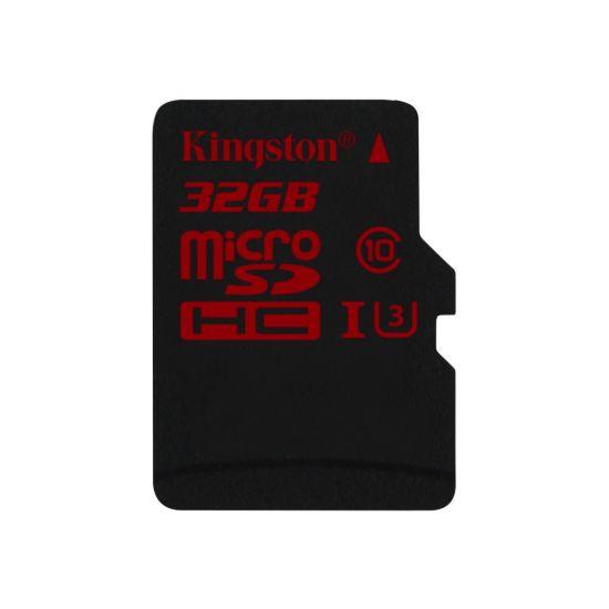 Kingston flashhukommelseskort 32 GB - microSDHC UHS-I