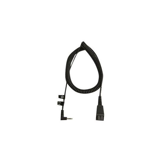 Jabra kabel til hovedsæt - 2 m