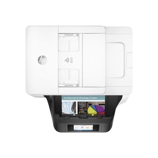 HP Officejet Pro 8740 All-in-One - multifunktionsprinter (farve)