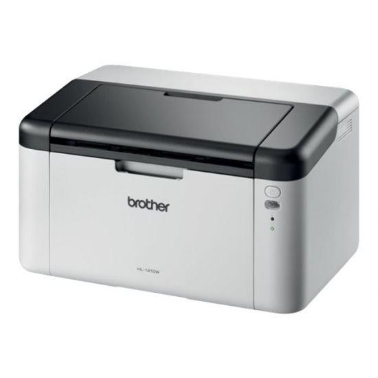 Brother HL-1210W trådløst - Sort/hvid laserprinter