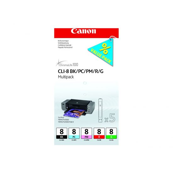 Canon CLI Value Pack 8 Multipack