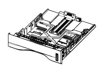 Samsung papirkassette