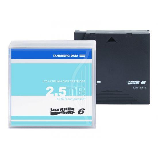 Tandberg - LTO Ultrium x 1 - 2.5 TB - lagringsmedie