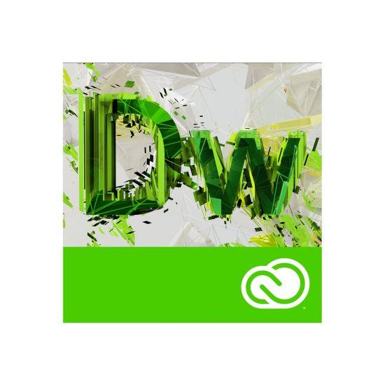 Adobe Dreamweaver CC for teams - Team Licensing Subscription Renewal (1 år) - 1 bruger