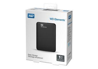 WD Elements Portable WDBUZG0010BBK &#45 1TB