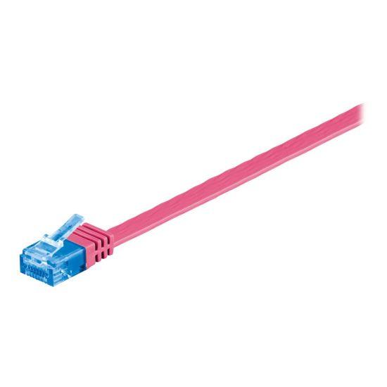 MicroConnect netværkskabel - 2 m - rosa