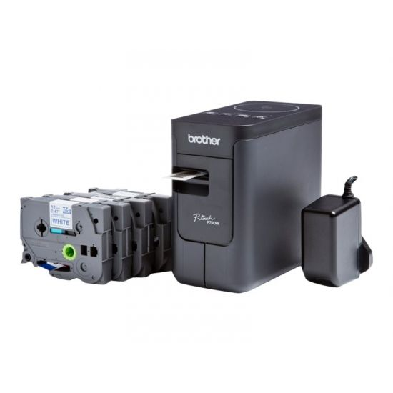 Brother P-Touch PT-P750WSP - etiketprinter - monokrom - termo transfer