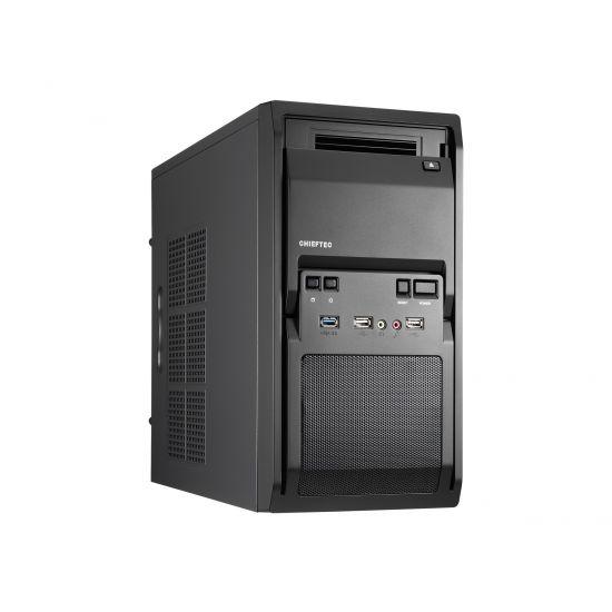 Chieftec LIBRA Series LT-01B - minitower - micro-ATX