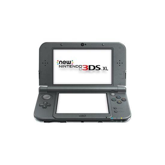 New Nintendo 3DS XL - håndholdt spillekontrolenhed - sort