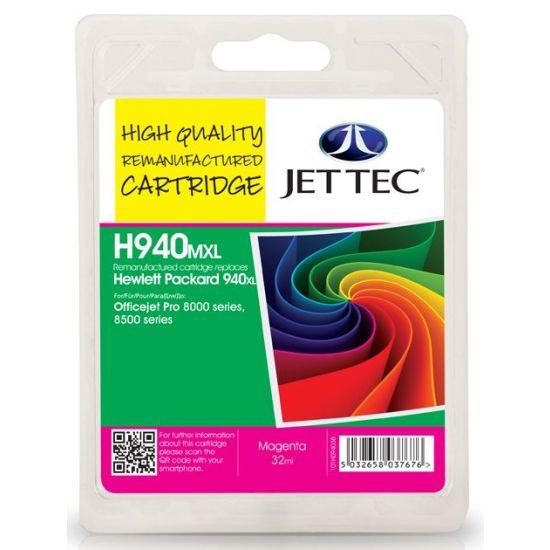 Magenta Inkjet Cartridge No.940XL (C4908AE)