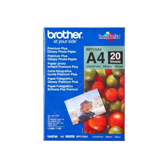 Brother Innobella Premium Plus BP71GA4 - fotopapir - 20 ark - A4 - 260 g/m²