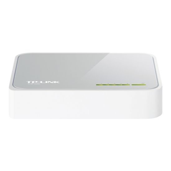 TP-Link TL-SF1005D 5-Port 10/100Mbps Desktop Switch - switch - 5 porte