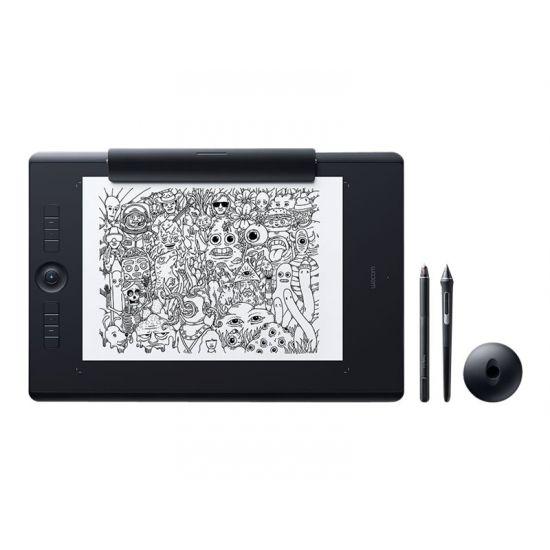 Wacom Intuos Pro Paper Edition Large - digitizer - USB, Bluetooth - sort