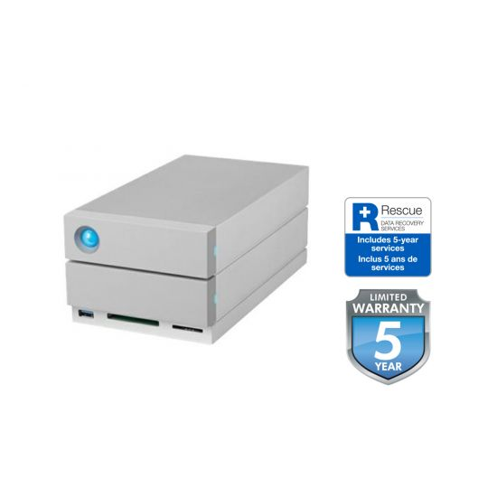 LaCie 2big Dock Thunderbolt 3 - harddisk-array