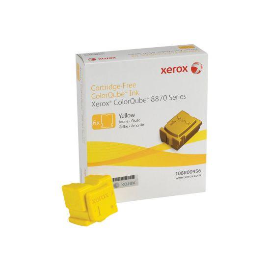 Xerox ColorQube 8870 - 6 - gul - fast blæk