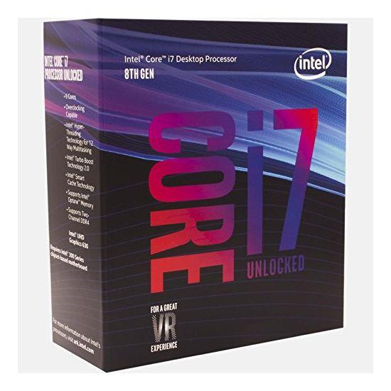Intel Core i7 8700K / 3.7 GHz Coffee Lake Processor - LGA1151
