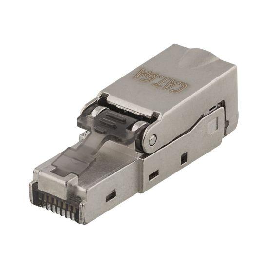 DELTACO netværk-konnektor - sølv
