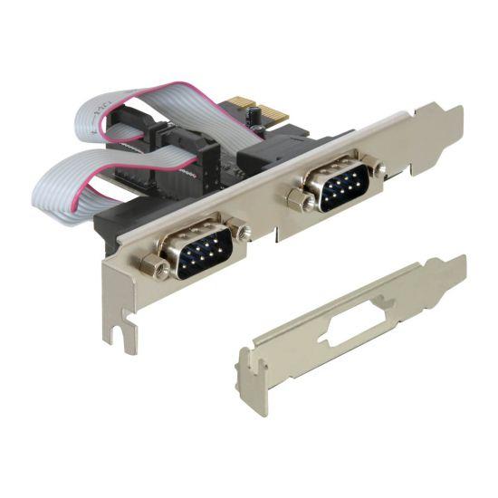 DeLock PCI Express Card 2 x Serial - seriel adapter