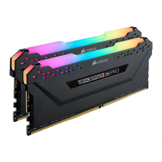 CORSAIR Vengeance RGB PRO &#45 32GB: 2x16GB &#45 DDR4 &#45 3000MHz &#45 DIMM 288-PIN - CL15