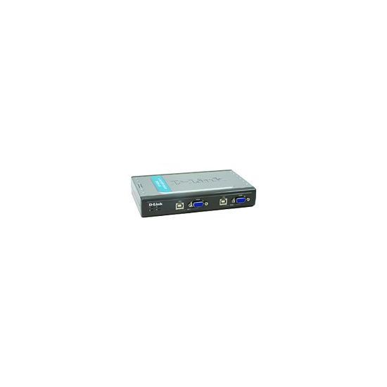 D-Link DKVM 4U - KVM switch - 4 porte