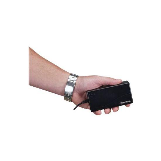 Manhattan 100854 - strømforsyningsadapter - 70 Watt