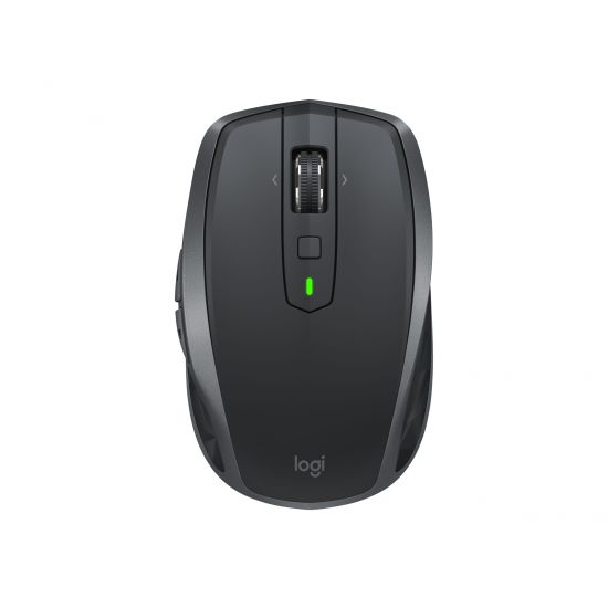 Logitech MX Anywhere 2S - mus - Bluetooth, 2.4 GHz - grafit