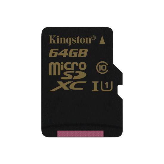 Kingston - flashhukommelseskort - 64 GB - microSDXC UHS-I