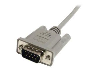 StarTech.com 6 ft Straight Through Serial Cable