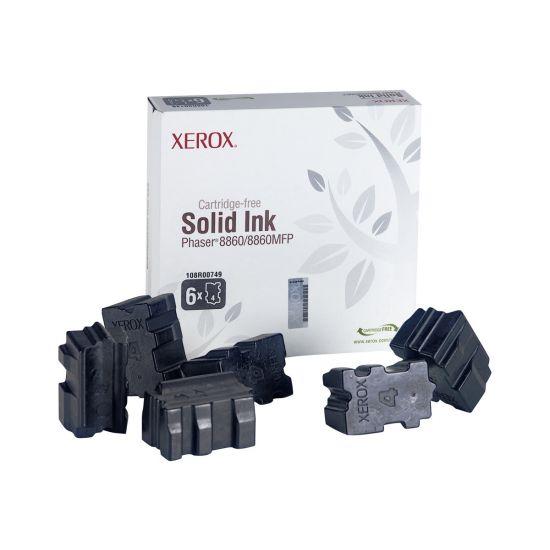 Xerox - 6 - sort - fast blæk