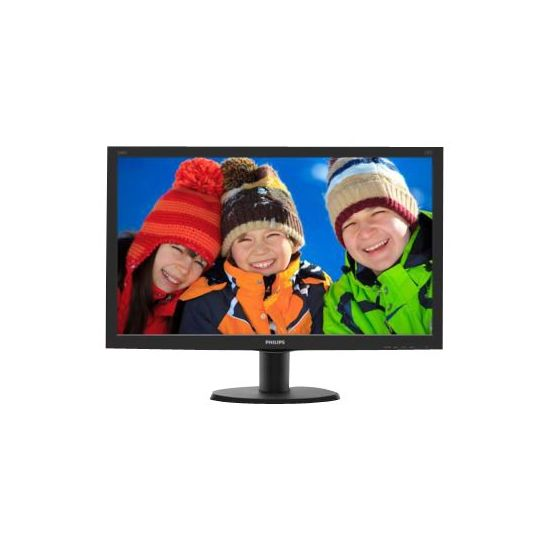 "Philips V-line 240V5QDSB - WLED 24"" ADS-IPS - Full HD 1920x1080 ved 60Hz"